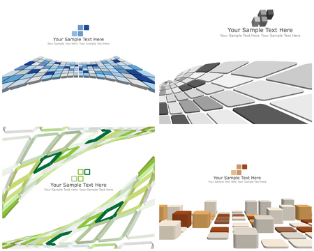 checked: Abstract 3d checked  business background for use in web design Illustration