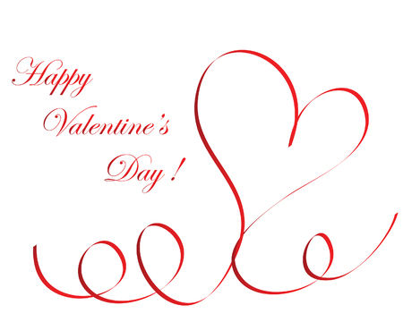 Abstract Valentine days background frame. Vector illustration. Stock Vector - 6333938