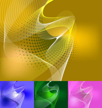 Abstract business background for use in web design Stock Vector - 6441830