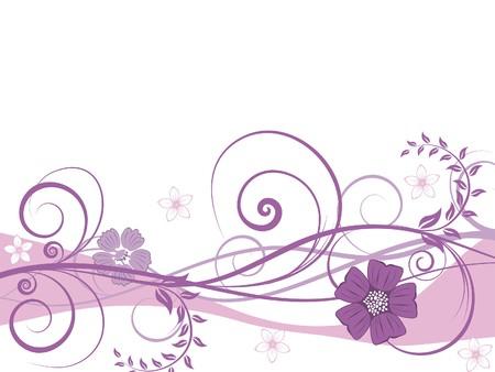 Sfondo floreale per uso design. illustrazione.