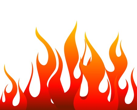 rod sign: Inferno fire  background for design use Illustration