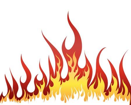 flammes: Arri�re-plan de feu Inferno pour utilisation de conception