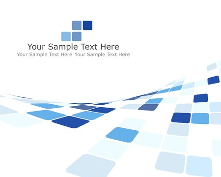 border tile: Abstract 3d checked  business background for use in web design Illustration