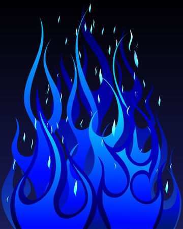 inferno: Inferno fire  background for design use Illustration