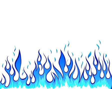 blazes: Inferno fire  background for design use Illustration