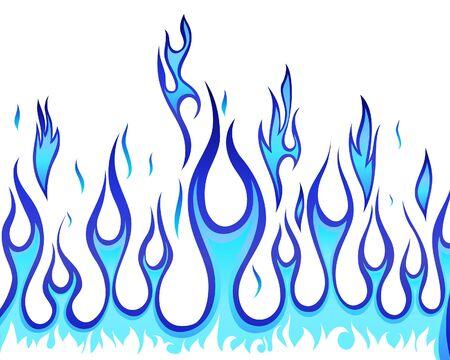tiges: Arri�re-plan de feu Inferno pour utilisation de conception Illustration