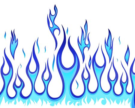 Inferno fire background for design use Stock Vector - 7249140
