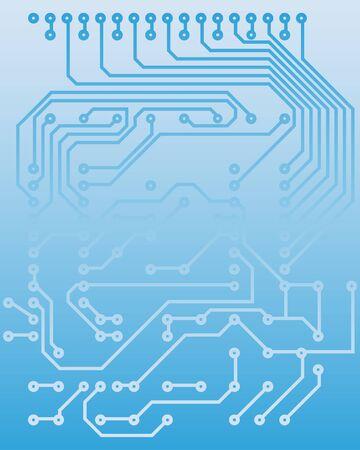 Elektrische Schema für Design-Verwendung. Abbildung.