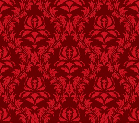 Damask seamless  background.  For easy making seamless pattern just drag all group into swatches bar, and use it for filling any contours. Vector