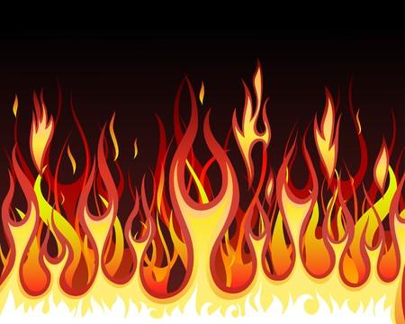 infierno: Fondo de fuego del infierno para uso de dise�o  Vectores