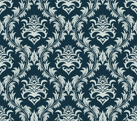 swatches: Damask seamless  background.  For easy making seamless pattern just drag all group into swatches bar, and use it for filling any contours.