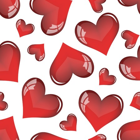 Abstract Valentine days background frame illustration. Vector