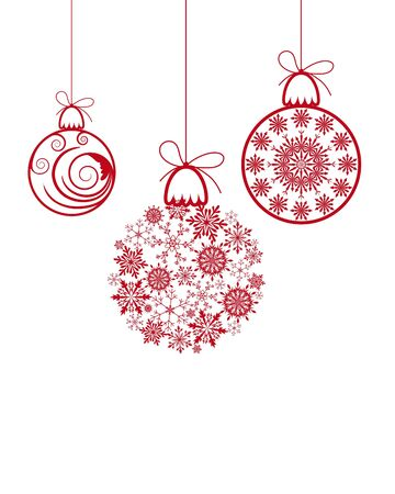 snowflake: Beautiful Christmas (New Year) background for design use Illustration