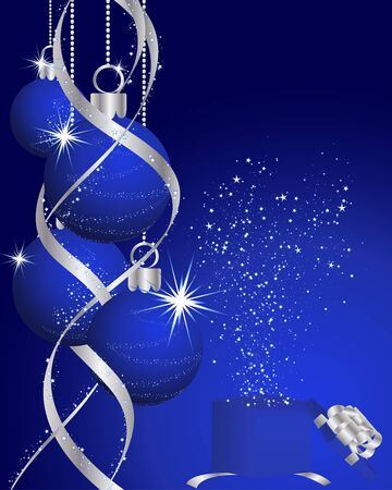 Beautiful Christmas (New Year) background for design use Stock Vector - 7524380