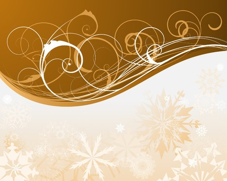 year curve: Beautiful   Christmas (New Year) background for design use