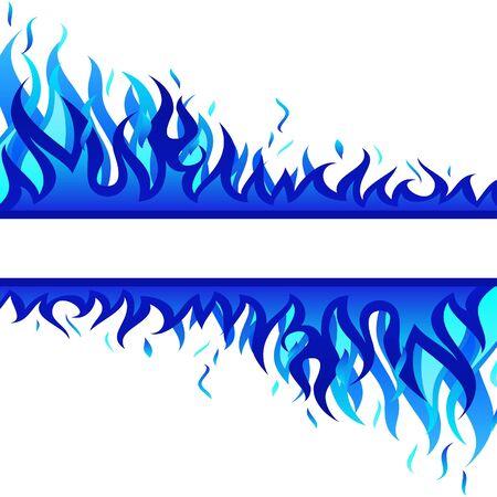 resplandor: Fondo de fuego del infierno para uso de dise�o  Vectores