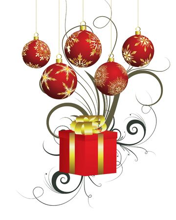 Beautiful  Christmas (New Year) background for design use Stock Photo - 7720880
