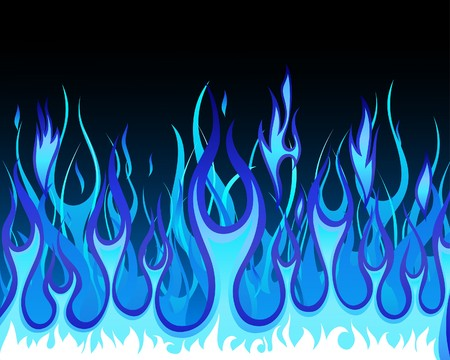 blazes: Inferno fire background for design use