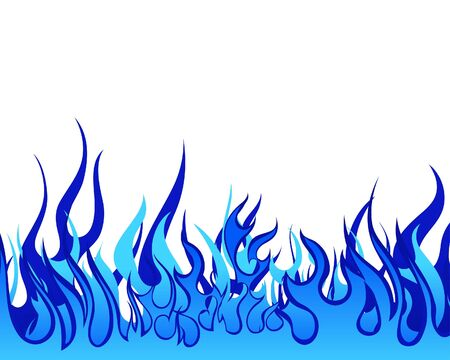 Inferno fire   background for design use photo