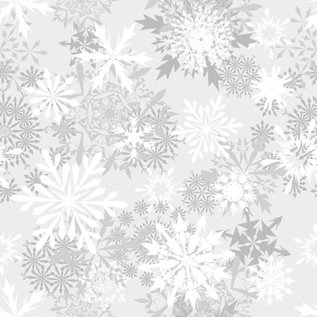 images icon: Seamless snowflakes background for winter and christmas theme