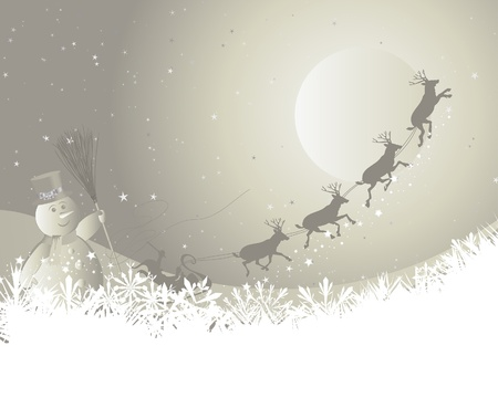 Beautiful  Christmas (New Year) background for design use Stock Vector - 8279415