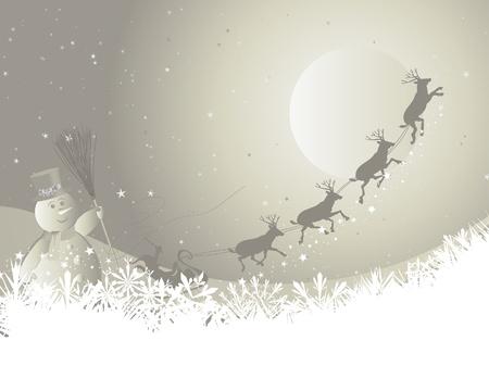 backdrop: Beautiful  Christmas (New Year) background for design use Illustration