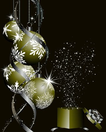 Utilisez de beaux vecteur arrière-plan de Noël (nouvel an) pour la conception