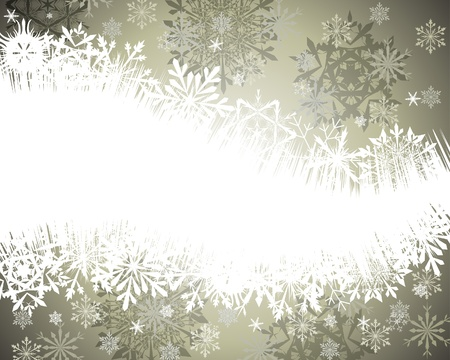 illustration background: Beautiful vector Christmas (New Year) background for design use