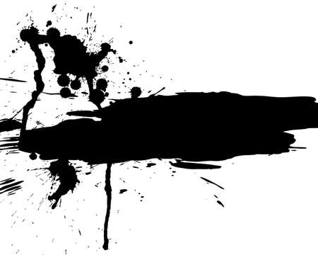 inkblots: Abstract grunge   background for design use.  Illustration