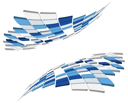 company background: 3d astratto bianco business controllato per l'utilizzo nel web design