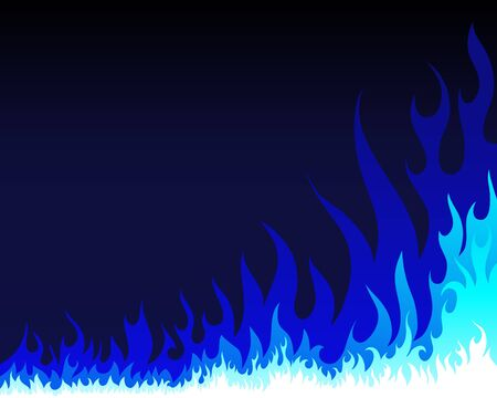 wildfire: Inferno fire vector background for design use Illustration