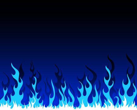 resplandor: Fondo de vector de fuego infierno para uso de dise�o
