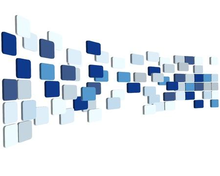 kontrolovány: 3D abstraktní zaškrtnutých obchodní zázemí pro použití ve web design