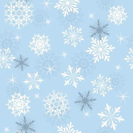 winter wallpaper: Fondo transparente de copos de nieve para el tema de invierno y la Navidad