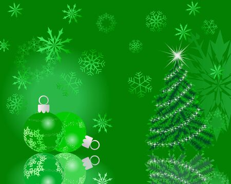 Beautiful vector Christmas (New Year) card for design use Stock Vector - 10917731