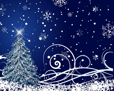 Beautiful vector Christmas (New Year) card for design use Stock Vector - 10917718