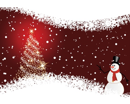 christmas backgrounds: Christmas (New Year) card for design use.