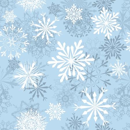 snow flakes: Naadloze sneeuwvlokken achtergrond voor de winter en kerst thema