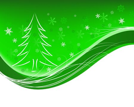 Beautiful Christmas (New Year) card Stock Vector - 11601585
