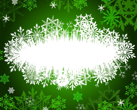 Beautiful Christmas (New Year) card Vector