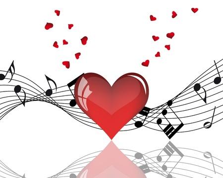 Résumé Valentine jours trame de fond. Vector illustration.