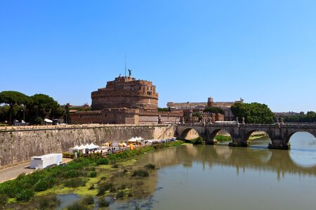 Castle of Saint Angel  Rome  Italy  Europe