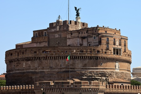 Castle of Saint Angel. Rome. Italy. Europe. photo