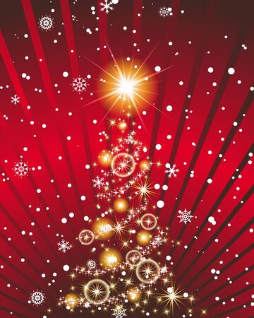 Christmas and New Year background. illustration. transparency. Vector