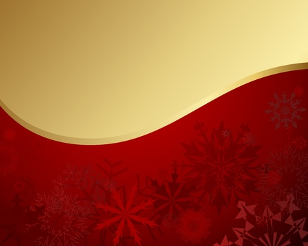 Christmas and New Year background Vector