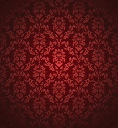 rococo: Damask seamless pattern.  For easy making seamless pattern just drag all group into swatches bar, and use it for filling any contours.