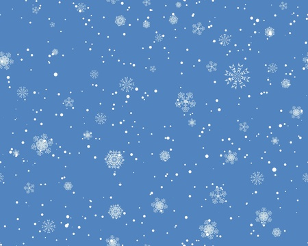 Seamless snowflakes background for winter and christmas theme.  Stock Vector - 16298568