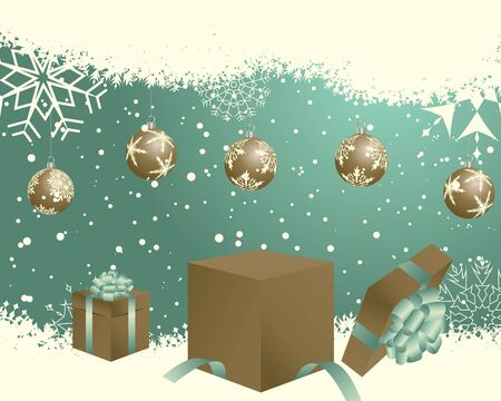 Christmas  background.  illustration  with transparency. Stock Vector - 16571580