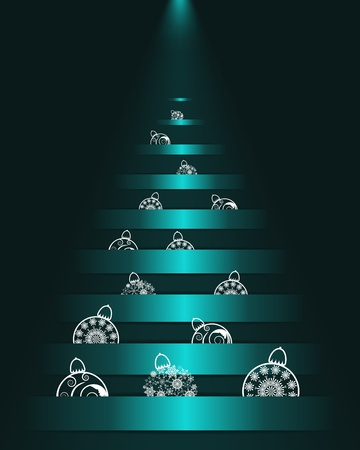Christmas  background.  illustration  with transparency and meshes. Stock Vector - 16575031