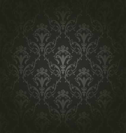 Damask seamless pattern. For easy making seamless pattern just drag all group into swatches bar, and use it for filling any contours. Fully editable illustration. Stock Vector - 16571518